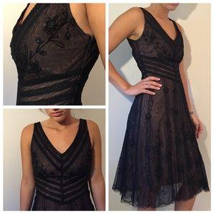 BCBG Maxazria Black Cocktail Dress